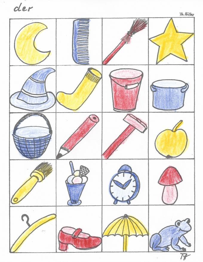 Sprachanfang - Farbspiele für die Kleinen